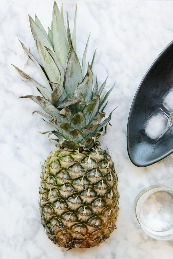 Pineapple-coriander cooler
