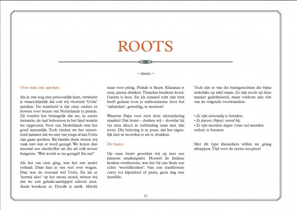 PURE COOK BOOK preview — Roots